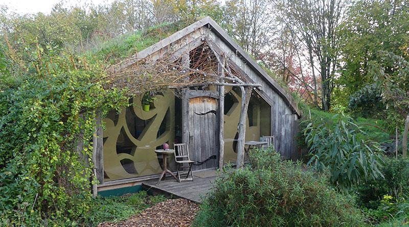 Ecolodge La Belle verte en Bretagne